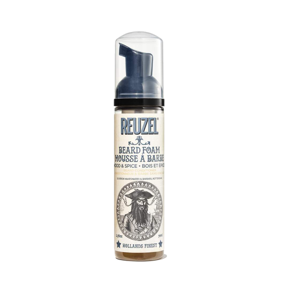 REUZEL - WOOD & SPICE BEARD FOAM