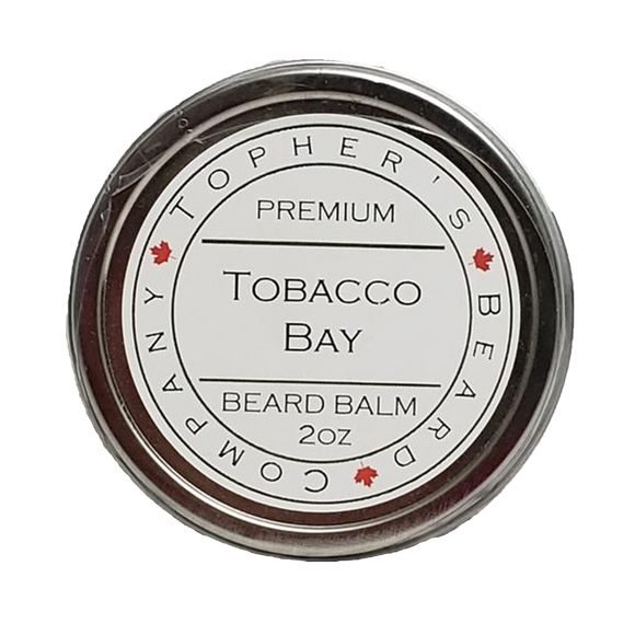 TOPHER'S BEARD & SOAP CO. -  TOBACCO BAY BEARD BALM