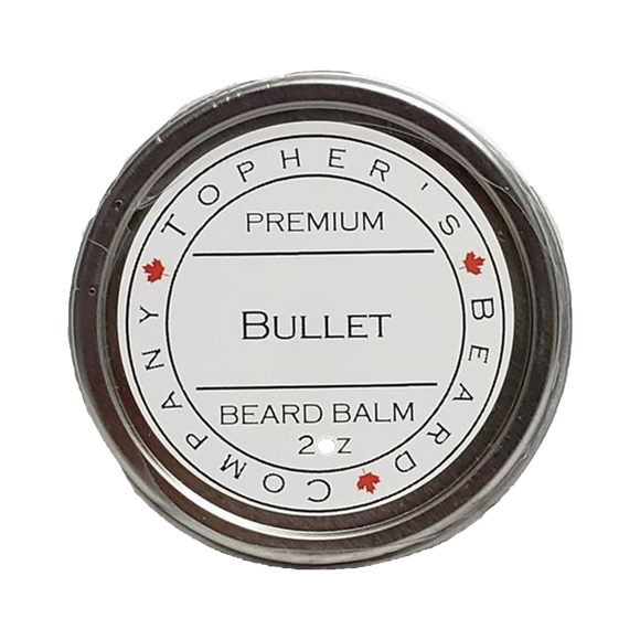 TOPHER'S BEARD & SOAP CO. -  BULLET BEARD BALM