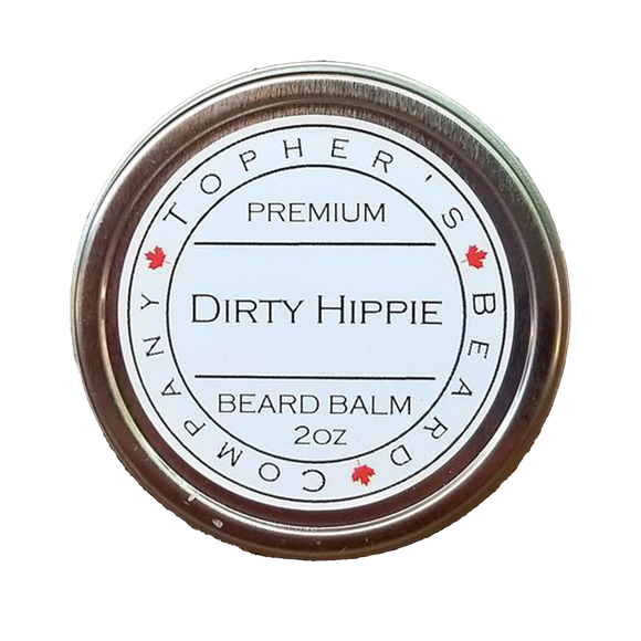 TOPHER'S BEARD & SOAP CO. -  DIRTY HIPPIE BEARD BALM
