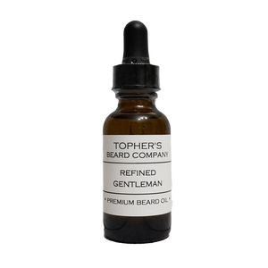 TOPHER'S BEARD & SOAP CO. - REFINED GENTLEMAN BEARD OIL