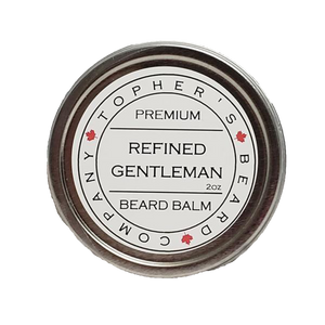 TOPHER'S BEARD & SOAP CO. -  REFINED GENTLEMAN BEARD BALM