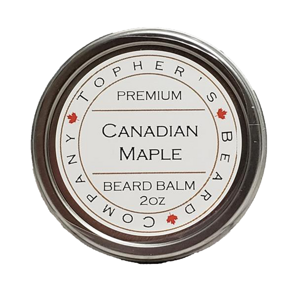 TOPHER'S BEARD & SOAP CO. -  CANADIAN MAPLE BEARD BALM