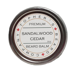 TOPHER'S BEARD & SOAP CO. -  SANDALWOOD & CEDAR BEARD BALM