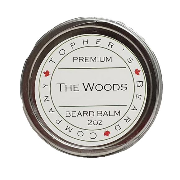 TOPHER'S BEARD & SOAP CO. -  THE WOODS BEARD BALM