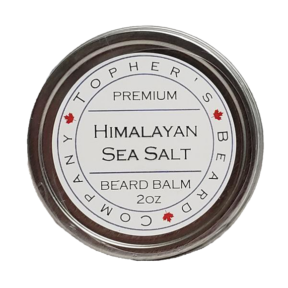 TOPHER'S BEARD & SOAP CO. -  HIMALAYAN SEA SALT BEARD BALM