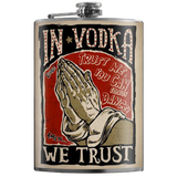 TRIXIE & MILO - IN VODKA WE TRUST FLASK