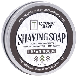 TACONIC SHAVE - URBAN WOODS SHAVE SOAP