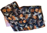 Vintage Scarf Into Africa Wild Animals