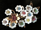 Emmons Vintage Jewelry Flower Figural Pin Brooch Pin