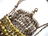 Neide Ambrosio Zipper Metal Chain Mail Bag Handcrafted in Brazil
