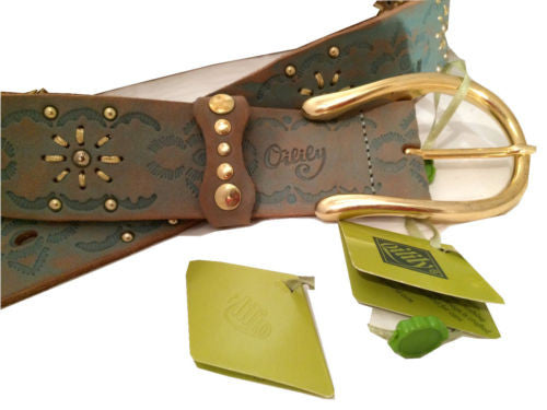Oilily Leather Belt Vintage Accessory made in Italy