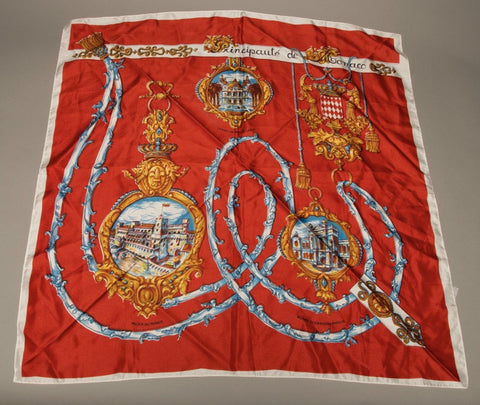 Vintage Scarf Made in France
