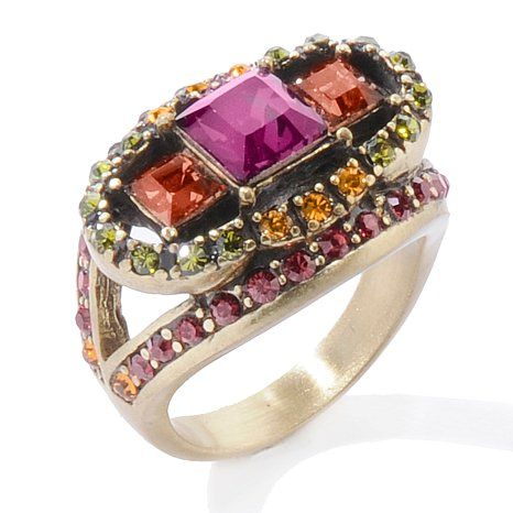 heidi daus jewelry art deco collection vintage passion ring