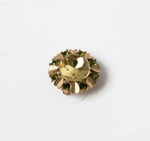 Avon Floral Pin Brooch Pendant Vintage Jewelry