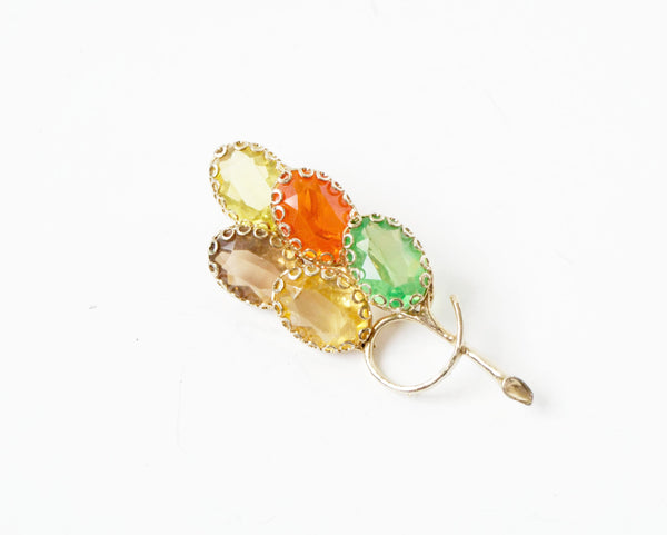 Colorful Balloon Pin Brooch Vintage Jewelry