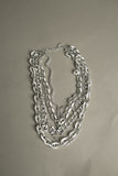 Silver Chain Link Necklace Vintage Jewelry made in Germany