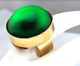 Sugar Gay Isber Green Ring Contemporary Design Jewelry