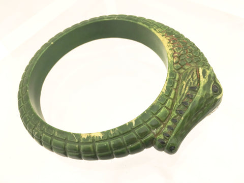 Angela Caputi Iconic Alligator Bangle