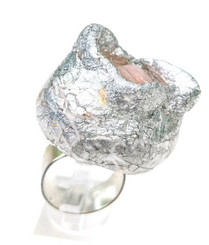 Sugar Gay Isber Runway Floral Ring Contemporary Jewelry