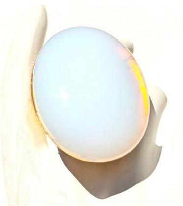Sugar Gay Isber Opalite Statement Ring Contemporary Jewelry