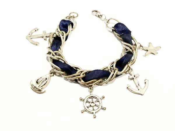 Nautical Vintage Jewelry Bracelet Charm Pendant