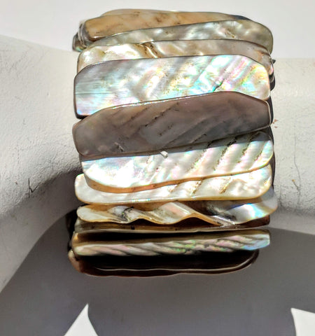 Sugar Gay Isber Mother of Pearl Shell Bracelet Contemporary Jewelry