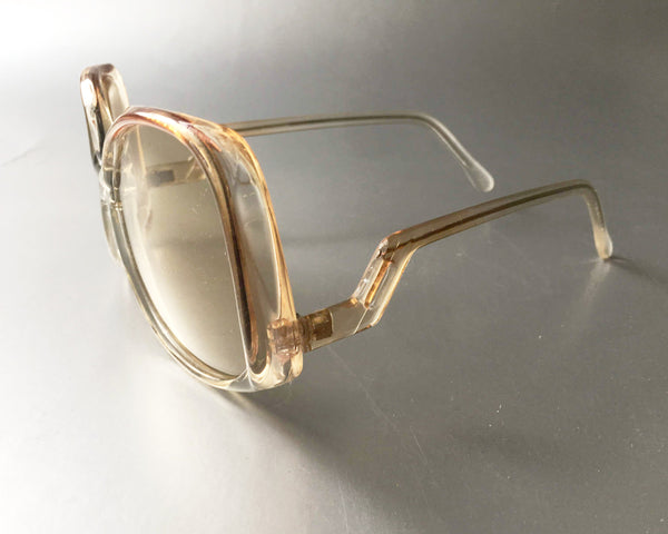 Retro Drop Framed Glasses Vintage Eyewear Accessory