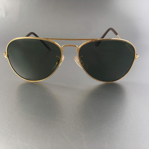 Small Gold Sunglasses Vintage Accessory