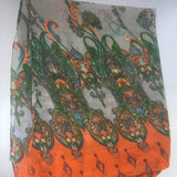 Large Statement Scarf Vintage Accessory