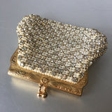 Diamond Rhinestones Coin Purse Little Bag Vintage Accessories