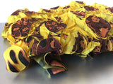Yellow Bold Large Scarf Contemporary Accessory