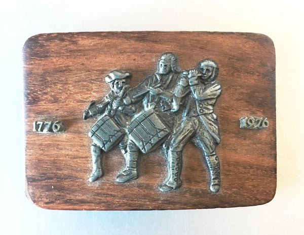 1776 Yankee Doodle 1976 Celebratory Buckle Belt Vintage Accessories