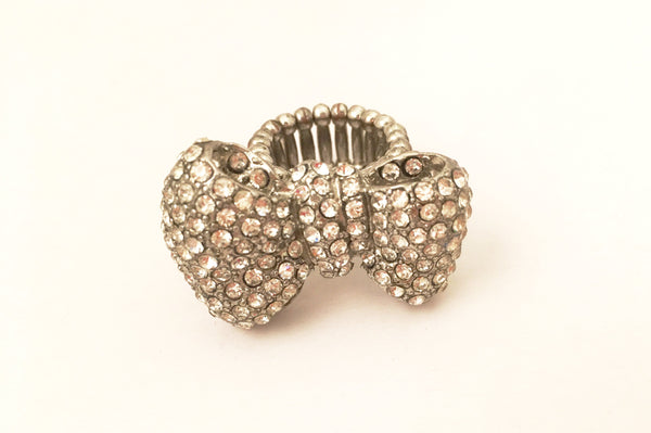 Bow Cocktail Ring Novelty Fashion Costume Jewelry