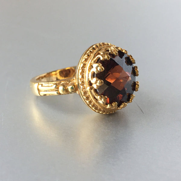Victorian High Cocktail Ring Vintage Jewelry