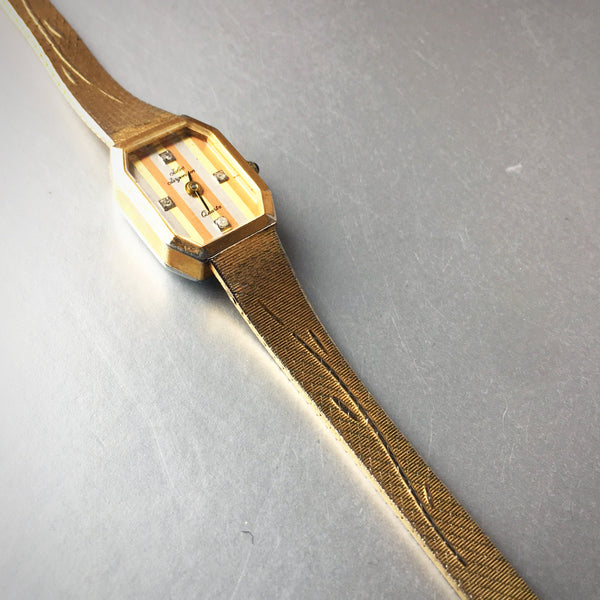 JJ Jules Jurgensen Ladies Wrist Watch Vintage Accessory