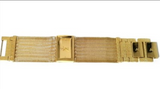 AK Anne Klein Diamond Golden Mesh Metal Wrist Watch