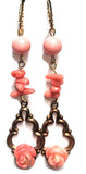 Sugar Gay Isber Coral Swarovski Earrings