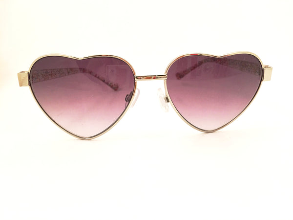 heart lenses sunglasses purple colorful trend eyewear
