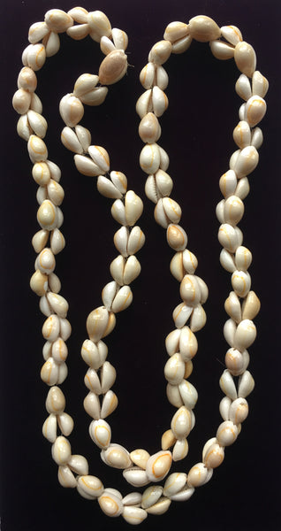 Cowrie Shell Necklace Handcrafted Costume Jewelry