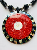 Arts & Crafts Beaded Necklace Contemporary Jewelry