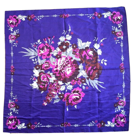 George Floral Scarf Contemporary Accessories