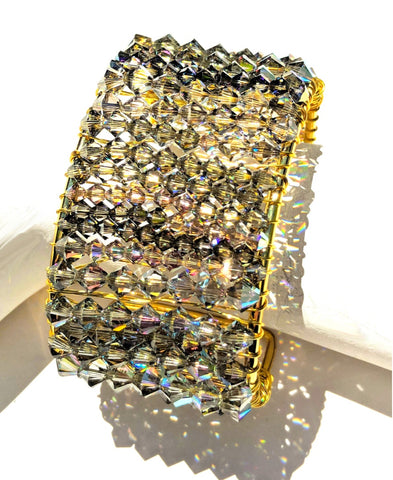 Sugar Gay Isber Swarovski Cuff Handmade Contemporary Jewelry