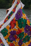 Bold Florals Large Scarf Vintage Accessories