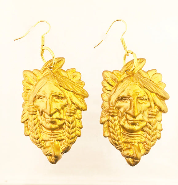Sugar Gay Isber Jewelry My Chief Earrings Figural Contemporary Design