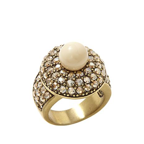 Heidi Daus Jewelry Posh and Proper Pavé Crystal Round Ring
