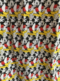 Mickey Mouse Vintage Scarf Retro Figural Disney MFG by Glentex