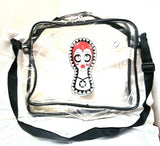 Vintage Anna Sui Messenger Bag Rare Handbag Laptop Retro Plastic