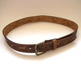 Chambers Phoenix Western Leather Belt Vintage Accessory