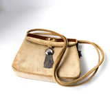 Cesare Piccini Velvet Bag for Lazarus Vintage Accessories made in Italy